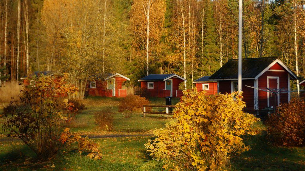 Stugor på Sörälgens Camping