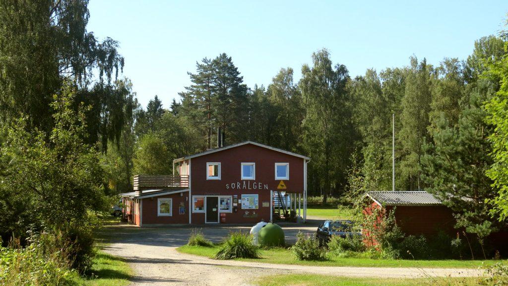Sörälgens camping - huvudbyggnad
