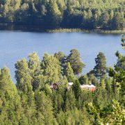 Sörälgens camping from above